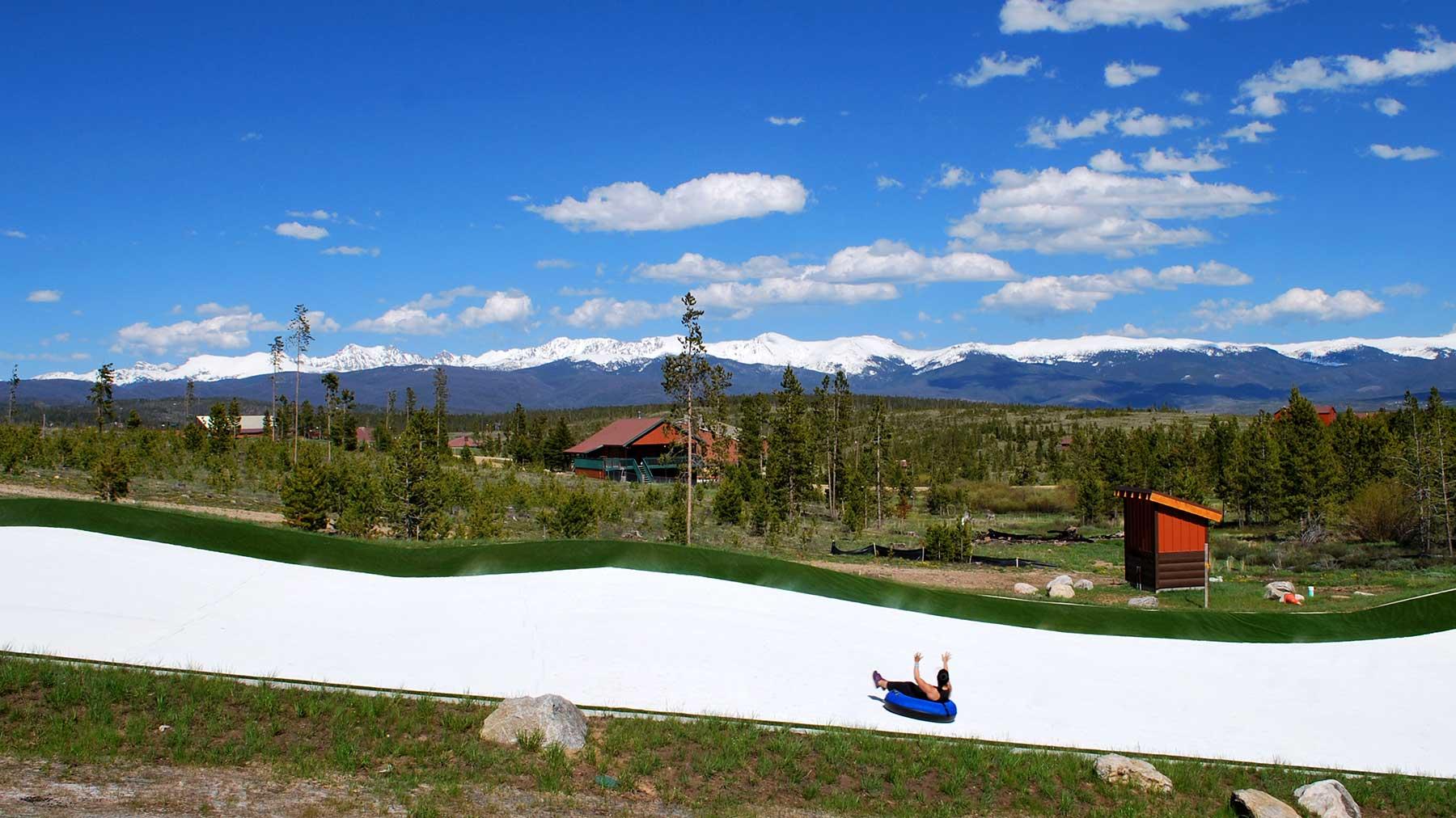 YMCA of the Rockies Snowflex Tubing